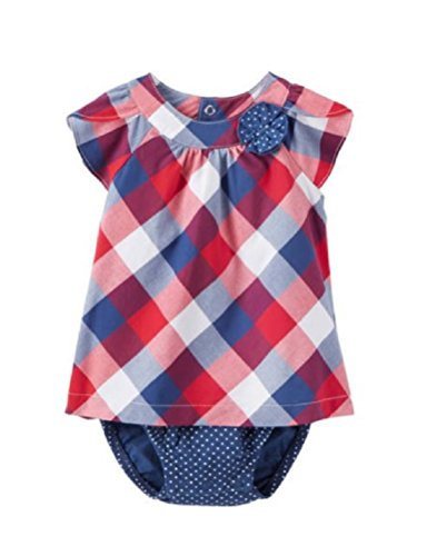 Baby Girls Child of Mine By Carters Buffalo Checked Dress (18 Months) Checked Baby Dress