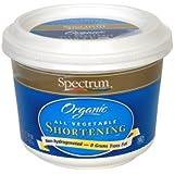 Spectrum Naturals Organic Shortening - 24 oz (Pack of 3)