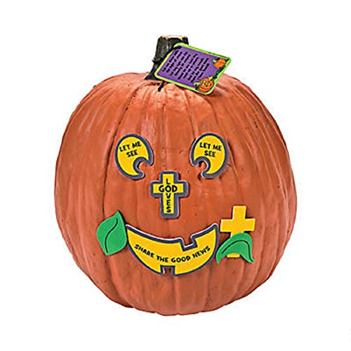 Fun Express The Pumpkin Prayer Decorating Craft Kit,
