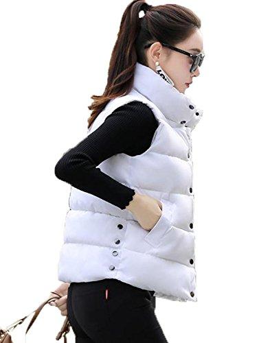 データム想起負荷アイビエツ(AIBIETU)レディース 中綿 ベスト ファッション ノースリーブ ジャケット カジュアル 軽量 ショート丈 中綿 ベスト