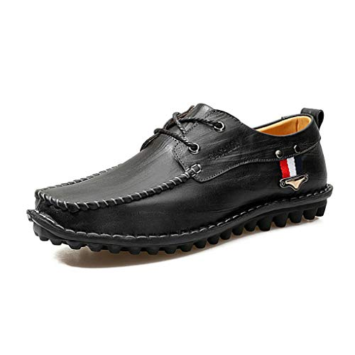 Mocasines Casuales de Caminan de y Do la de resbalones Comodidad Cuero de Que la Zapatos Zapatos Hombres Moda Zapatos de los los dxvqn5wXxT
