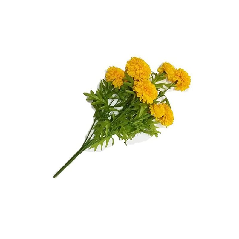 silk flower arrangements goodgoodsthailand, thai artificial yellow marigold bunch, artificial flowers, marigold flowers, yellow flowers, marigold yellow, calendula officinalis