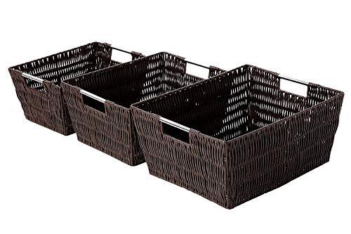 Decorative Organizing Baskets - Small Medium Large Wicker