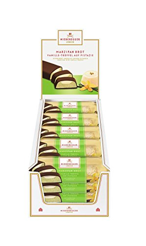 (Niederegger Vanilla Truffle Marzipan Made From Pistachios 75g (Pack of 2))