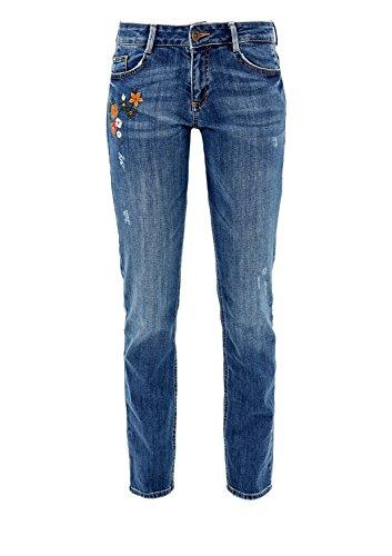 stretch denim s Femme Jeans Oliver Bleu RHFaHq