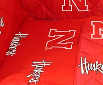 Nebraska Cornhuskers Baby Crib Fitted Sheet (Set of 2)