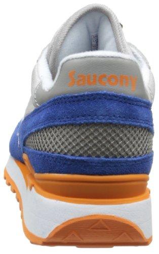 Saucony Shadow Original, Scarpe da Ginnastica Uomo Grey / Navy / Orange