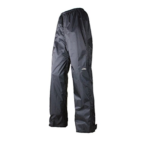 ROUGH ROAD bike for rain pants compact dual-Tex black XL RR7858 by ROUGH ROAD