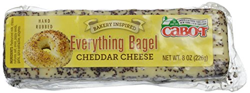 Everything Bagel Cheddar Cheese, 8 oz
