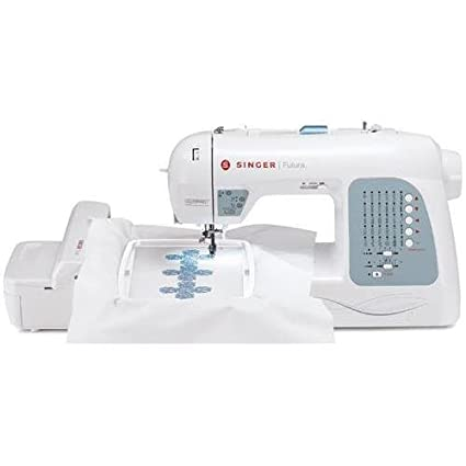 Amazon Singer XL40 Futura Electric Sewing Machine 40 Built Extraordinary How To Thread A Singer Futura Sewing Machine