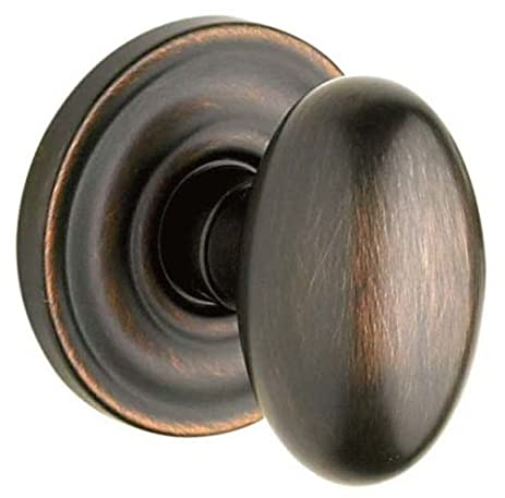 baldwin egg knob passage venetian bronze