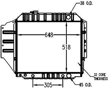 Radiator Performance Radiator 1456