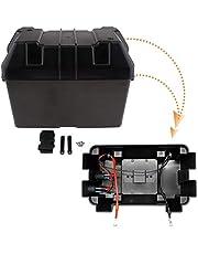 Säker 1 Ställ bil Smart Battery Box USB Billaddare Power Guard Storage Case Belt GM-EP-9116 För båt auto etc säkra