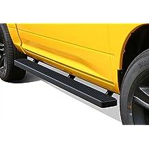 "Matte Black 5"" iBoard Running Boards Fit 09-17 Dodge Ram 1500/2500/3500 Crew Cab"