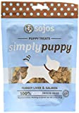 Sojos Simply Puppy Treats, Turkey Salmon, 2.5-Ounce