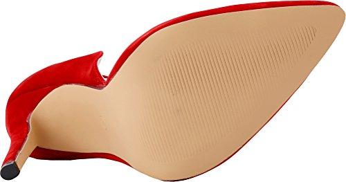 Donna Piattaforma Della Rosso Della Sandali Salabobo Rosso OITqTCw