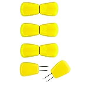 Chef'n - Lote de 4 pinchos para sujetar mazorcas de maíz (8 piezas en total)