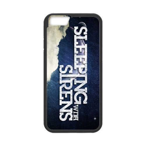 Fayruz- Personalized Protective Hard Textured Rubber Coated Cell Phone Case Cover Compatible with iPhone 6 & iPhone 6S - Sleeping With Sirens F-i5G1108