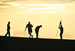 """Golf Silhouettes Wall Decal 16""""x24"""""""