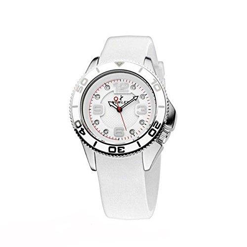 Reloj NOWLEY 8-5205-0-1 - Reloj mujer con caja de 38 mm de metal plateado y correa de silicona.: Amazon.es: Relojes