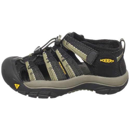 KEEN Newport H2 Sandal (Toddler/Little Kid/Big Kid),Black/Stone Gray,13 M US Little Kid by KEEN (Image #5)