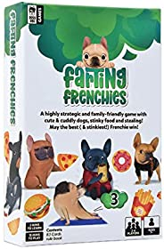 Farting Frenchies - A Wildly Silly, Clever & Exciting Family Game for Adults and Kids | A Fast Paced, Quic