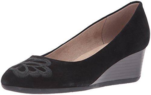 para Mujer Easy Alto Zapato Spirit GamuzaBlack de cuña Larcie Suede Negro wappPqxBF