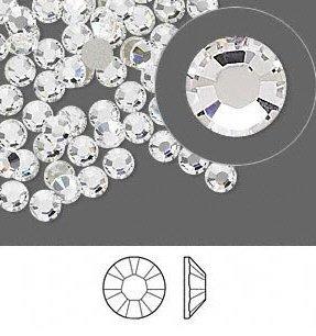 Swarovski Flatback Rhinestone #2028/2058 Ss9 Crystal (1440)