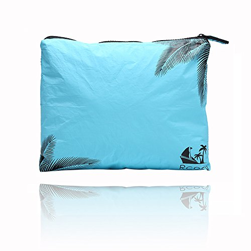 Chillscreamni Tyvek Swimsuit Bags - Multi-function Cosmetic Travel Bag with Zip-top Closure, Portable Cosmetic Beauty Bag Makeup Clutch Pouch, Made of Highly Anti-tearing Tyvek Cloth by Chillscreamni