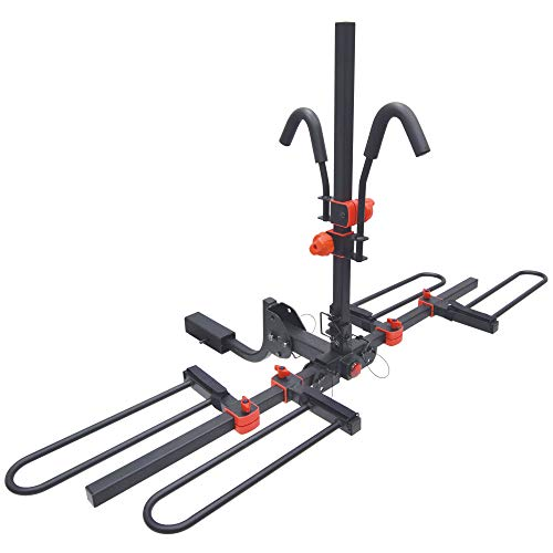 Malone Runway HM2 - Hitch Mount Platform 2 Bike Carrier, 1.25in and 2in, MPG2149