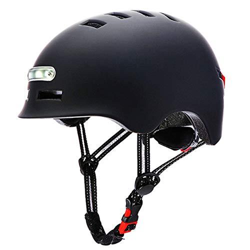 Fietshelm sporthelm mountainbike helm met ledlicht CE-certificaat unisex mannen vrouwen mountain& road fietshelm…