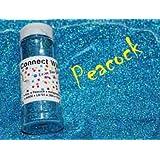 Peacock, Extra Fine Holographic Glitter 1/128, 4oz Shaker Bottle