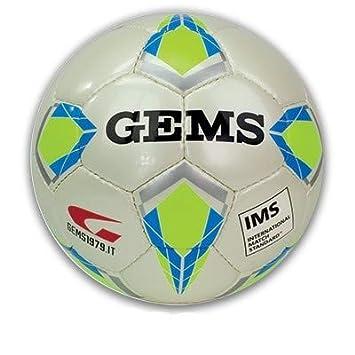 Balón de fútbol Gems Viper olímpico 5 IMS (Amarillo): Amazon.es ...