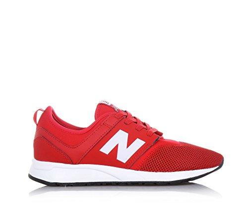 NEW BALANCE - Roter Sportschuh mit Schnürsenkeln 274 Preschool aus  Synthetik, Leder und Mikrofaser, ... 6492a5357a