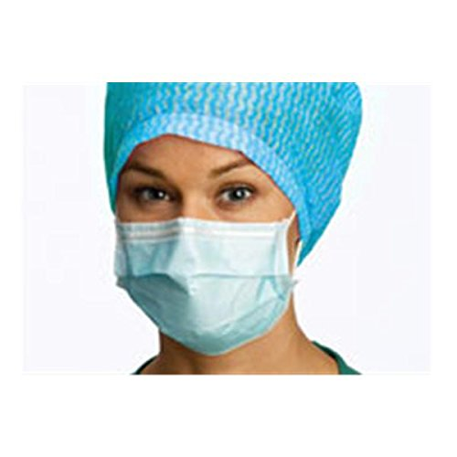 WP000-PT -42281-00 42281-00 Barrier Earloop Mask Blue 50/Bx Molnlycke Healthcare (Regent)
