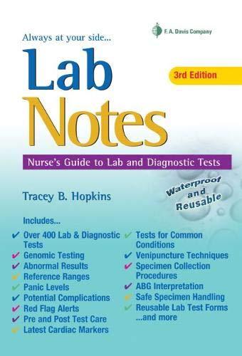LabNotes: Nurses' Guide to Lab & Diagnostic ()