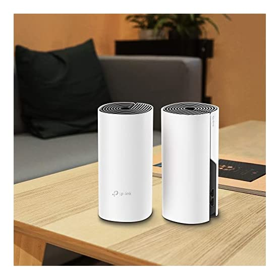 TP-Link Deco Whole Home Mesh WiFi System – Up to 3,800 Sq. Ft. Coverage,WiFi Router/WiFi Extender Replacement,AC1200… 41bdOdlV5WL. SS555