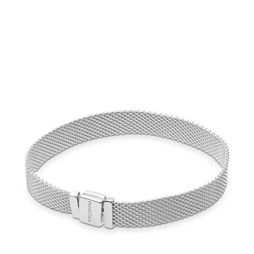 PANDORA Reflexions 925 Sterling Silver Bracelet, Size: 19cm, 7.5 inches - 597712-19 from PANDORA