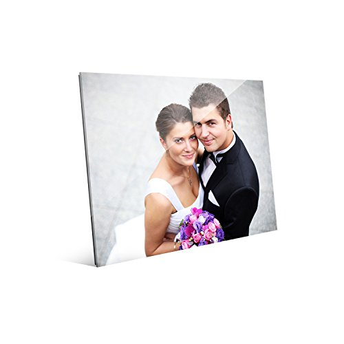 (Picture Wall Art Your Photo on Custom Glass 10 x 8 Horizontal Print)