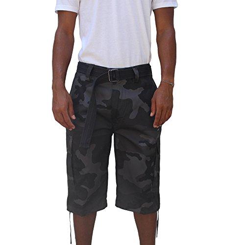 Regal Wear Mens Multi Color Bright Camo Big & Tall size 32-44 short (36, black - Miami Wetsuit