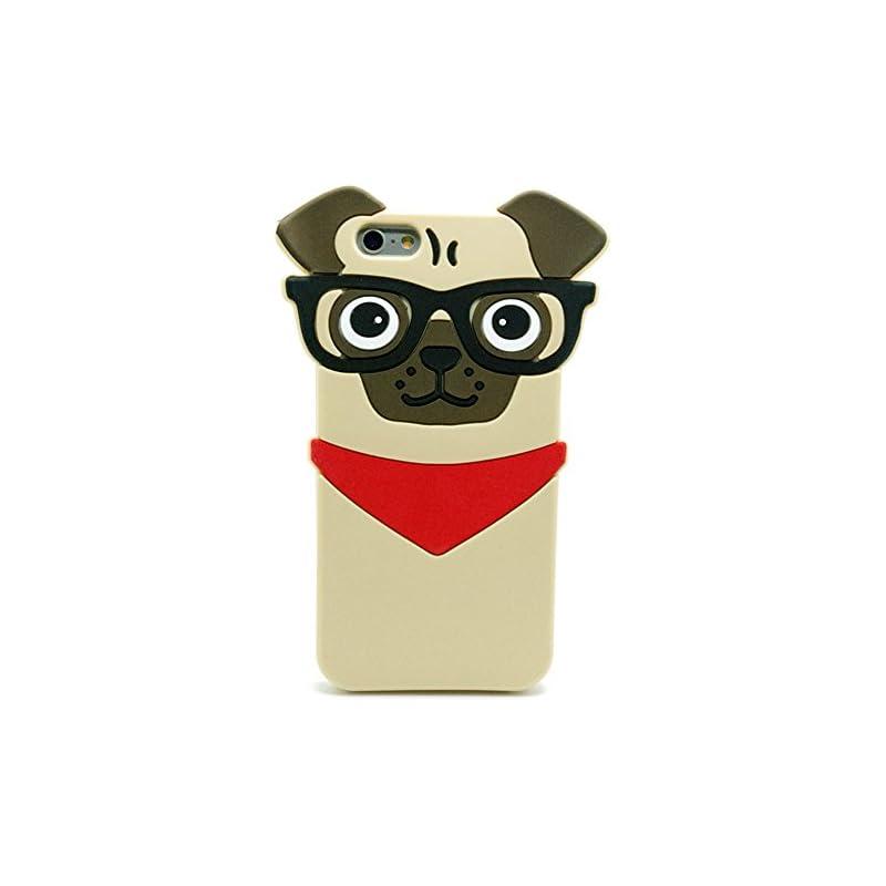 Iphone 6Plus Pug Case, Iphone 6S Plus Pu