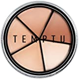 TEMPTU S/B Silicone-Based Concealer Wheel | 5 Natural Skin Tone Shades For Weightless Coverage Of Redness, Dark Spots…