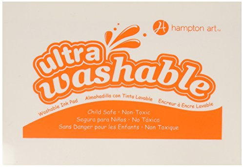 Hampton Art Orange Washable Ink