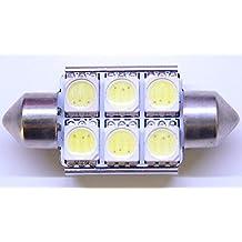 ONE Xenon HID WHITE Canbus Error Free 6418 C5W Samsung SMD LED Light Bulb *Lifetime Warranty*