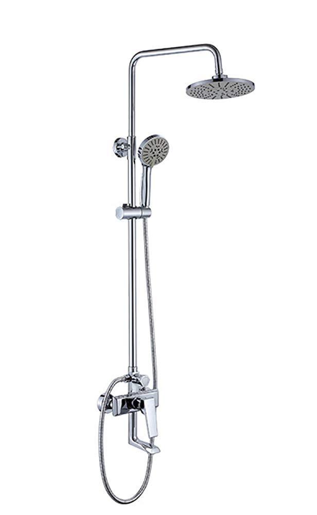 Bad-Duschset aus Messing Regendusche-Mixer Wasser-Multifunktionsspray