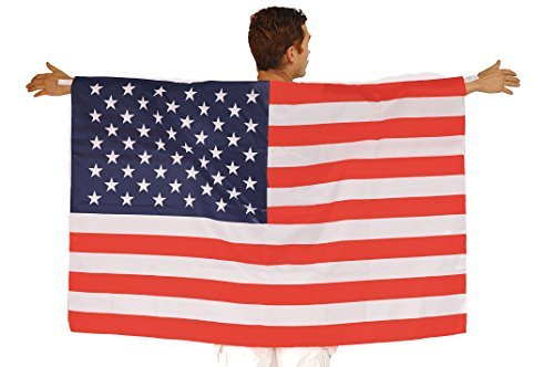 Augila American Flag Body Cape -