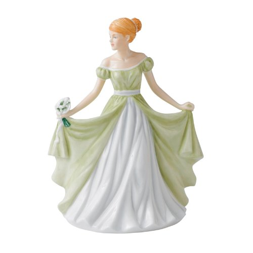 Royal Figurine Birthday Doulton (Royal Doulton Flower of the Month January Figurine)