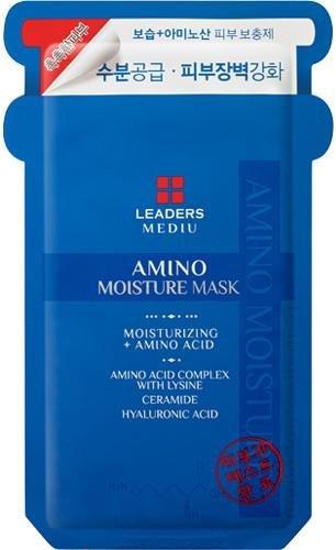 LEADERS MEDIU AMINO MOISTURE MASK, 10Sheets