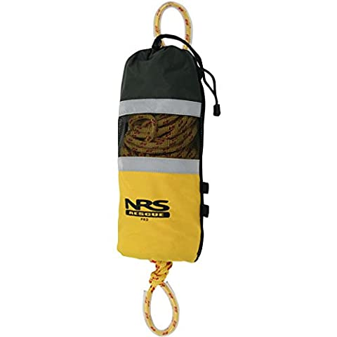 NRS Standard Rescue Throw Bag with 75-feet Polypropylene Floating Rope - Throw Rope Bag