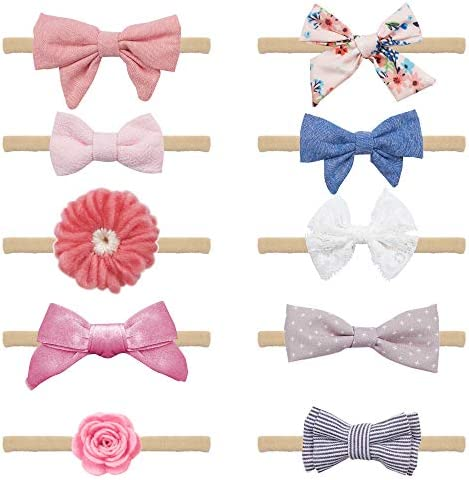 Baby Girl Headbands Bows Accessories product image